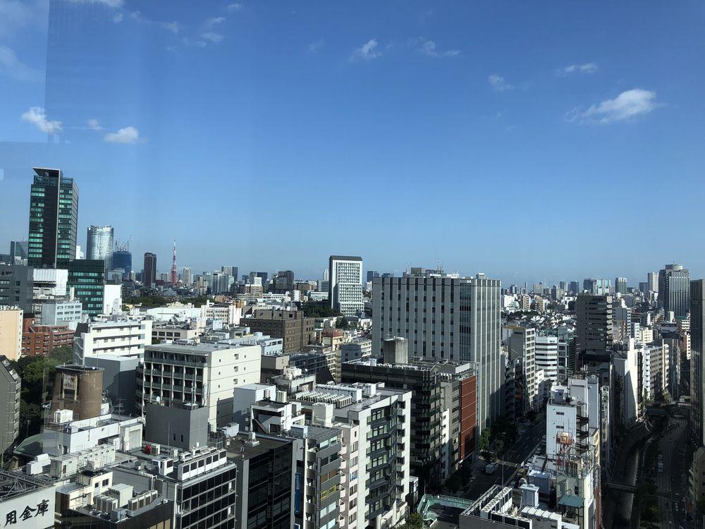恵比寿、六本木方面の景色と東京タワー